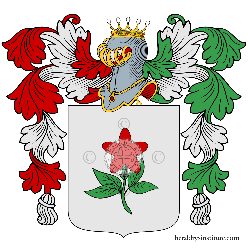 Coat of Arms of family D Fiore