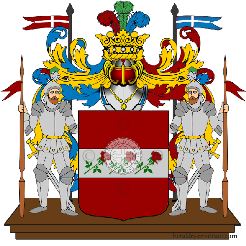 Coat of Arms of family Sestiani