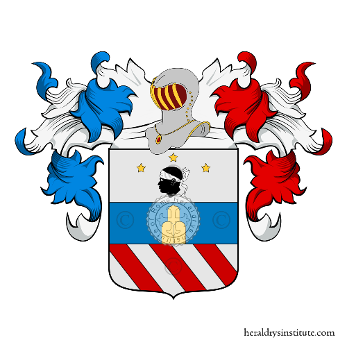 Coat of Arms of family Moretti (Toscana)