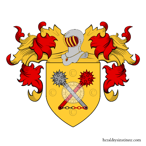 Coat of Arms of family Tenuti
