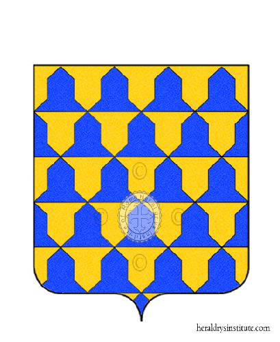 Coat of Arms of family D'Afflitto