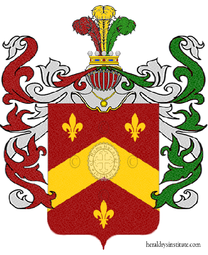 Coat of arms of family Andreina