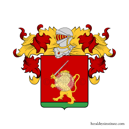 Coat of arms of family Narcisi