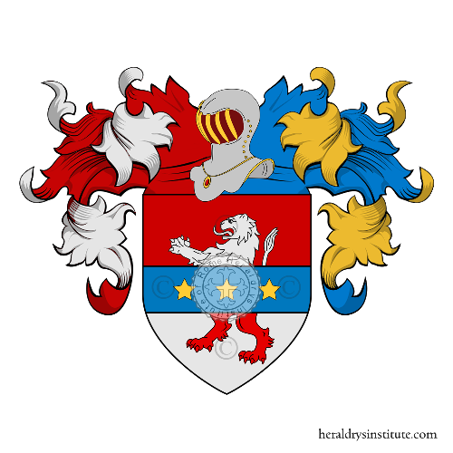 Coat of Arms of family Meleghetti