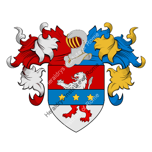 Coat of Arms of family Melemeni