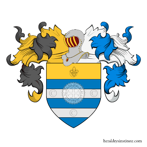 Coat of Arms of family Moriella