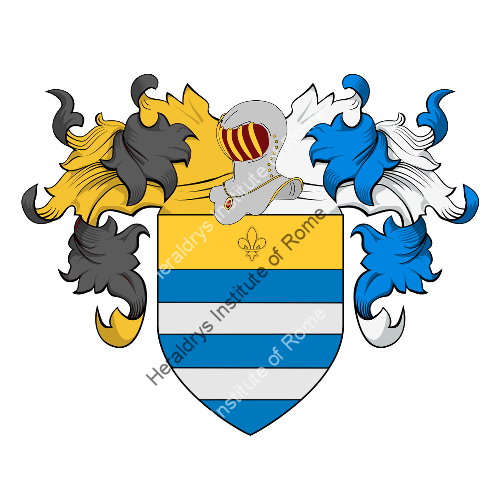 Coat of Arms of family Moriere