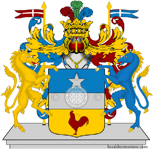 Coat of Arms of family Paoleti