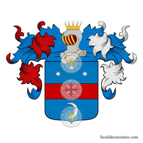 Coat of Arms of family Schiavone