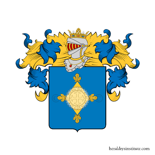 Coat of arms of family Di Orlando