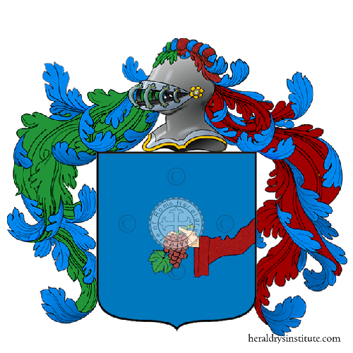 Coat of Arms of family Garbo o Garbi (Legnago)