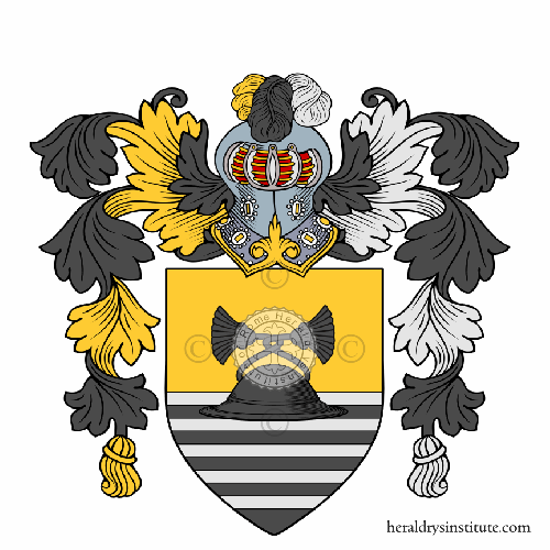 Coat of arms of family Cappella