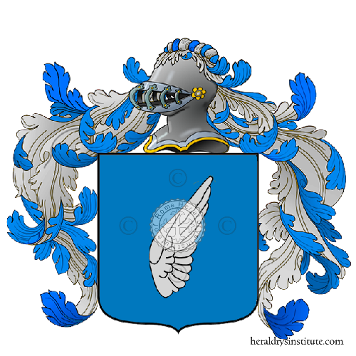 Coat of Arms of family Dell'ala