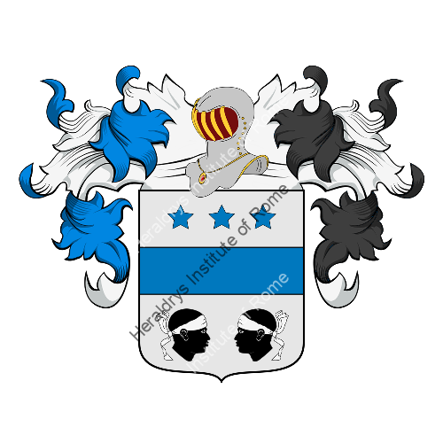 Coat of Arms of family Pizzamei