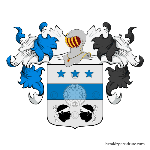 Coat of Arms of family Pizzangolo