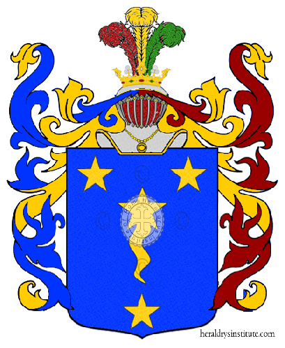 Coat of Arms of family Saraldi