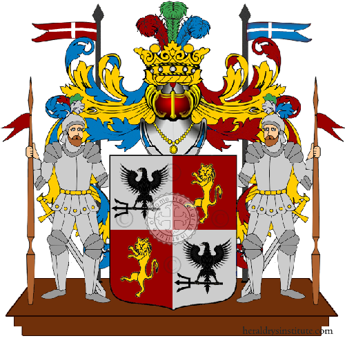 Coat of Arms of family Sanbenedetto