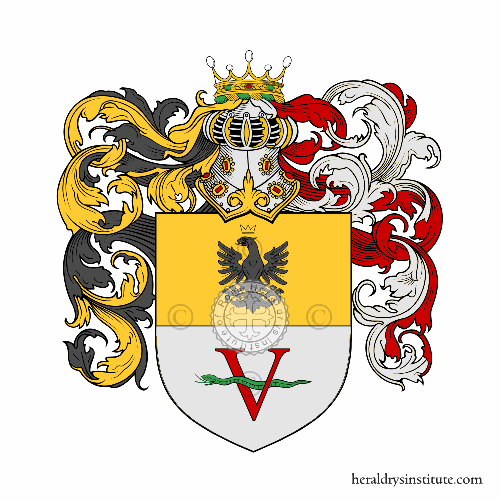 Coat of Arms of family Vicentino