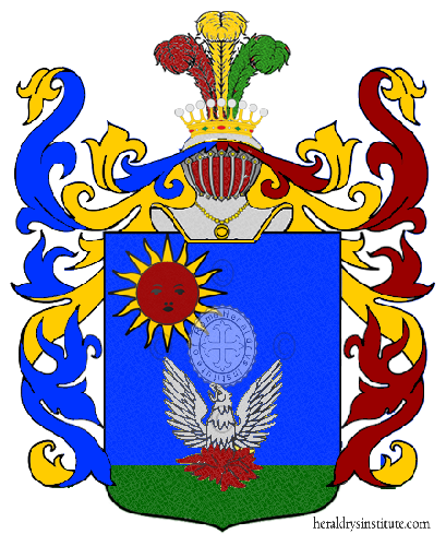 Coat of Arms of family Sbaratta
