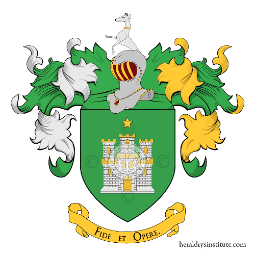 Coat of Arms of family Rastro