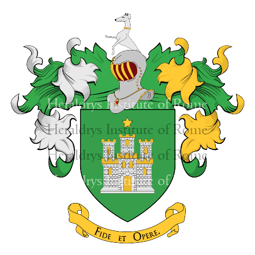 Coat of arms of family Castro