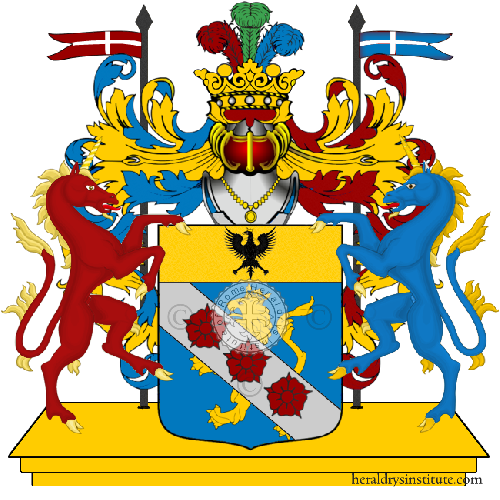 Coat of Arms of family Dellarosa