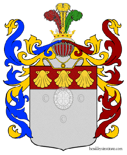 Coat of Arms of family Camillo Mariani Conte Benso Di Cavour