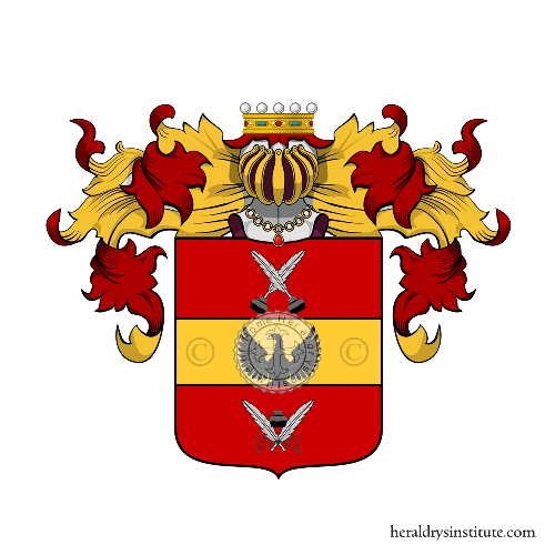 Coat of Arms of family Iacobelli
