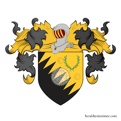 Coat of Arms of family Sanlorenzi
