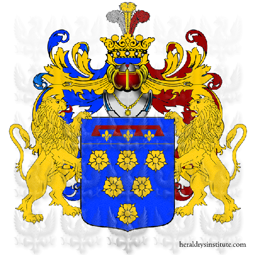 Coat of Arms of family Satini