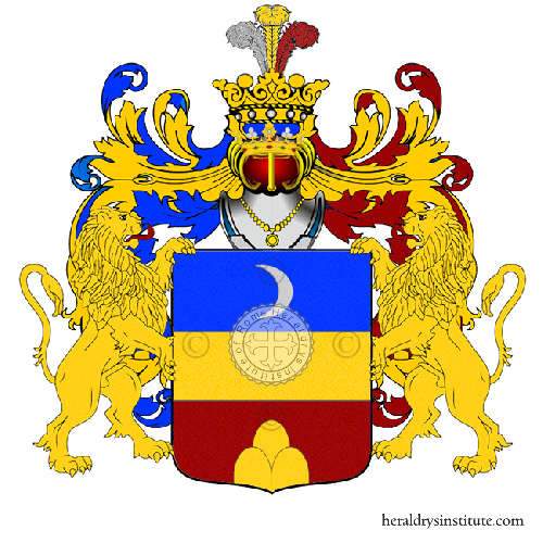 Coat of Arms of family Zanassi