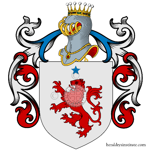 Coat of Arms of family CAVASIN