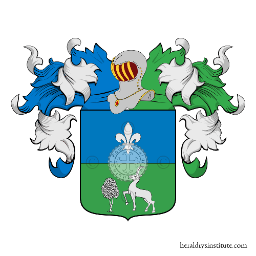 Coat of Arms of family Scamozzi