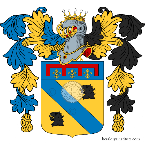 Coat of Arms of family Mondina