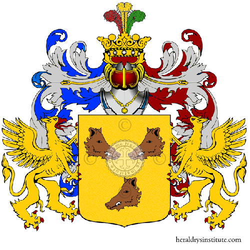 Coat of Arms of family Prugni