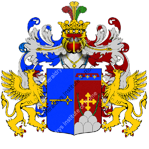 Coat of Arms of family Dal Santo Del Maestro Chiuppano