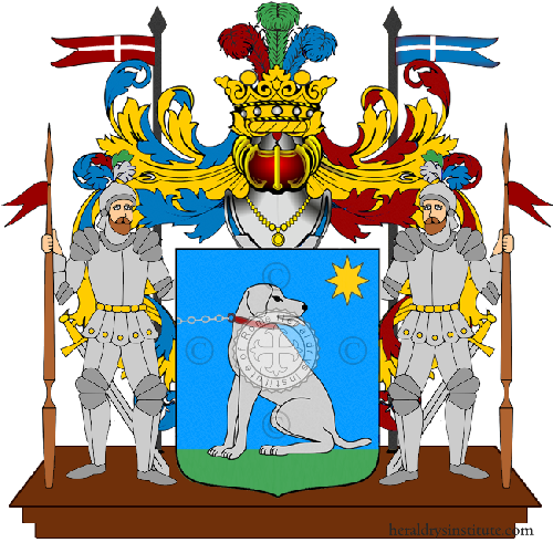Coat of Arms of family Scorsi