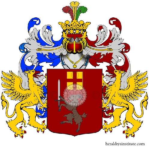 Coat of Arms of family Mecci