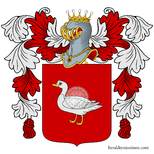 Coat of Arms of family Ralu
