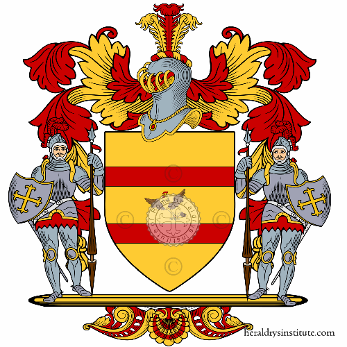 Coat of arms of family Camporese