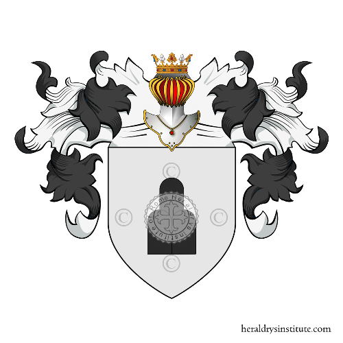 Coat of arms of family Montenegro