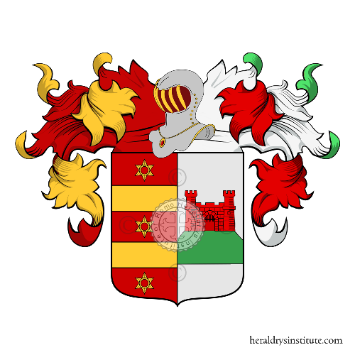 Coat of Arms of family Tatta