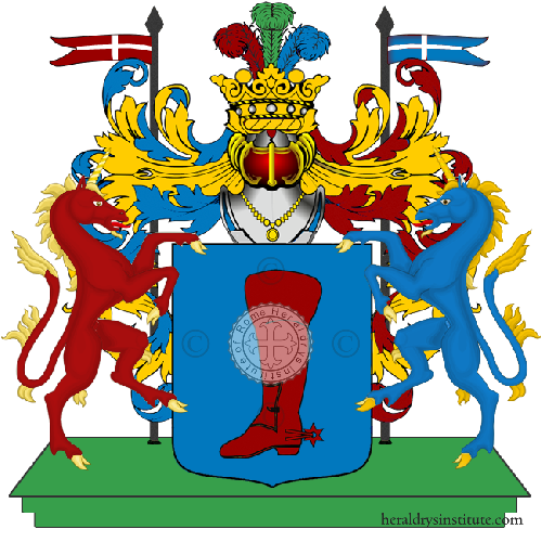 Coat of Arms of family Zambella