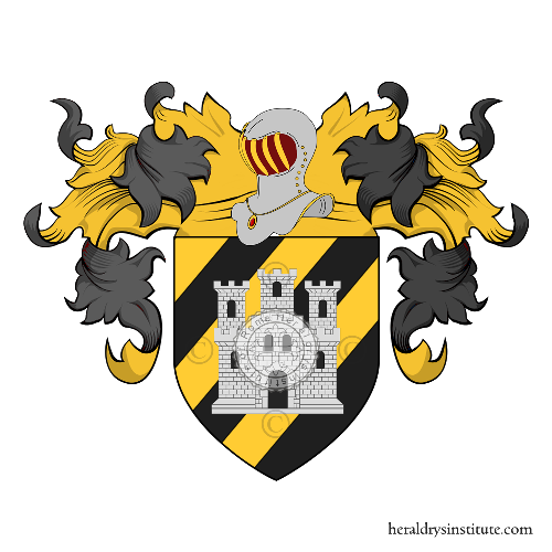 Coat of Arms of family Sestagalli (Lombardia)