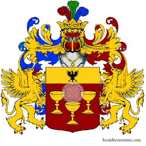 Coat of Arms of family Tuppini