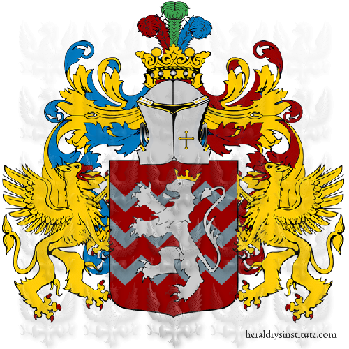Coat of arms of family Saponaro