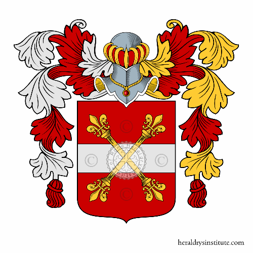 Coat of Arms of family Pedeschi