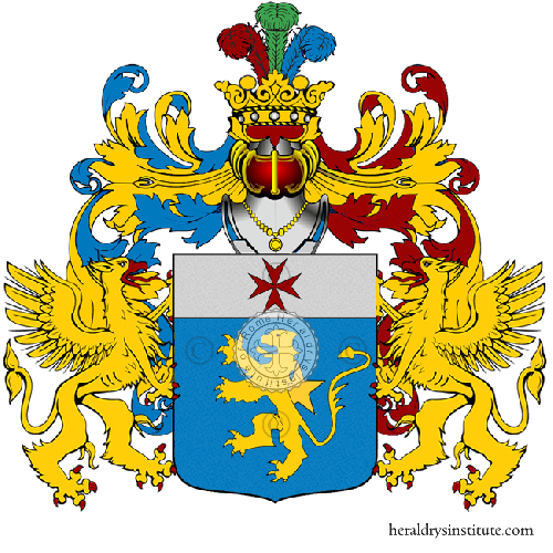 Coat of Arms of family Nucciogio