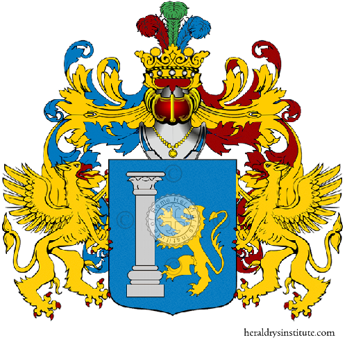 Coat of Arms of family Valentinetti