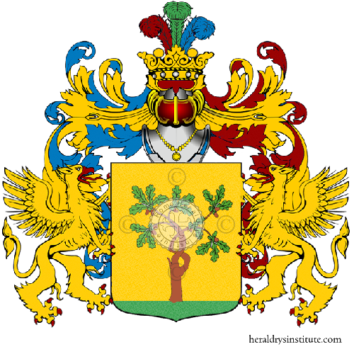 Coat of Arms of family Verdine